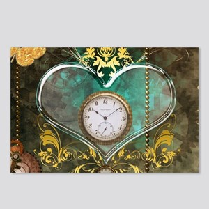 Steampunk, noble design Postcards (Package of 8)