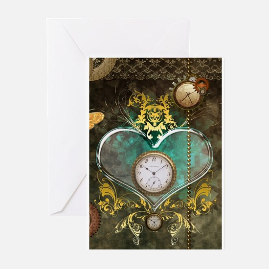 Steampunk, noble design Greeting Cards