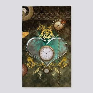 Steampunk, noble design Area Rug