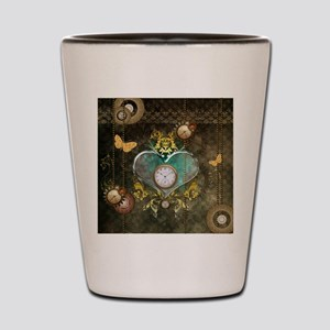 Steampunk, noble design Shot Glass