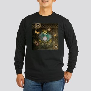 Steampunk, noble design Long Sleeve T-Shirt