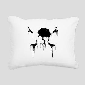 Cap'n Frosty Rectangular Canvas Pillow