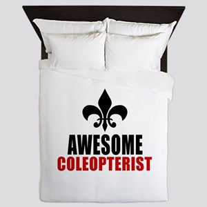 Awesome Coleopterist Queen Duvet