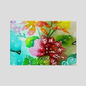No. 004 Batik Art Asia Masterpiece Magnets