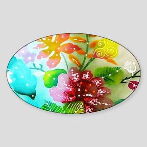 No. 004 Batik Art Asia Masterpiece Sticker