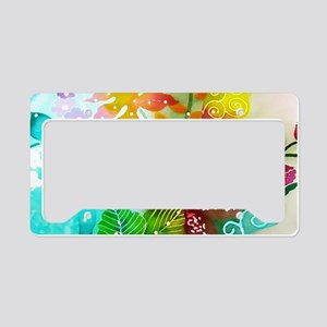 No. 004 Batik Art Asia Master License Plate Holder