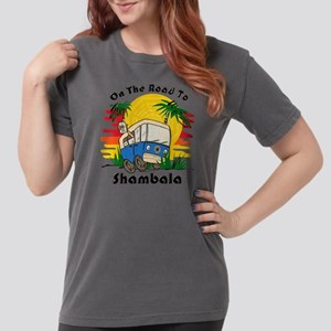 Road To Shambala Womens Comfort Colors T-Shirt