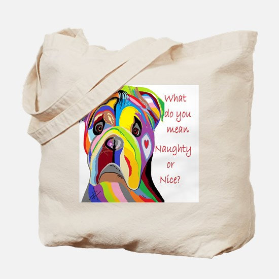 Cute Naughty messages Tote Bag