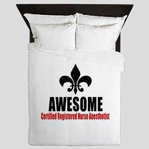 Awesome Certified Registered Nurse Ane Queen Duvet