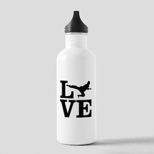 i love taekwondo Stainless Water Bottle 1.0L