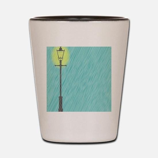 Unique Lamppost Shot Glass