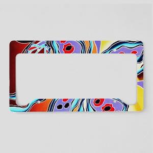 No. 013 Batik Art Asia Master License Plate Holder