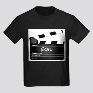 50th Year Clapperboard T-Shirt