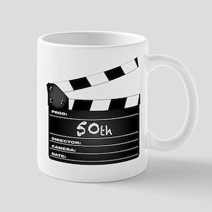 50th Year Clapperboard Mugs