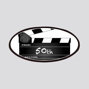 50th Year Clapperboard Patch