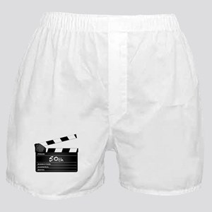 50th Year Clapperboard Boxer Shorts
