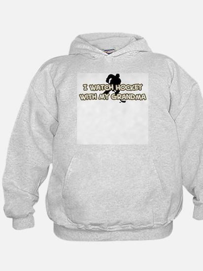 Pittsburgh Hockey Grandma Hoodie