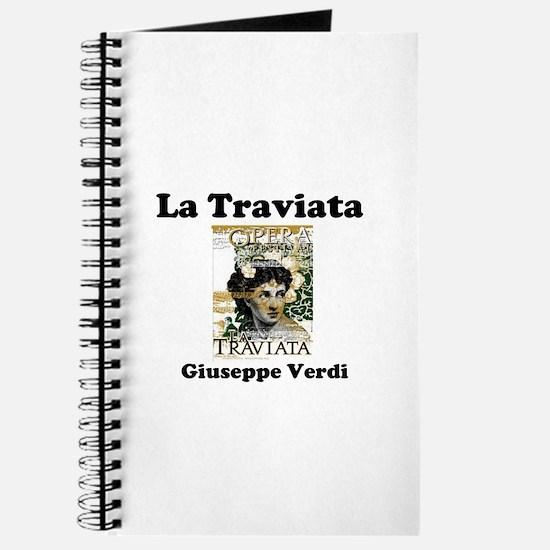 OPERA - LA TRAVIATA - GIUSEPPE VERDI Journal