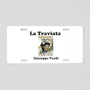 OPERA - LA TRAVIATA - GIUSE Aluminum License Plate