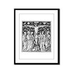 Crucifixion Framed Panel Print
