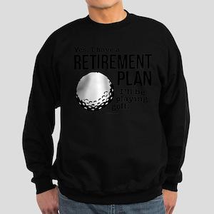 Golf Retirement Plan Sweatshirt
