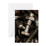 Fasteners Greeting Cards (20 Pack)