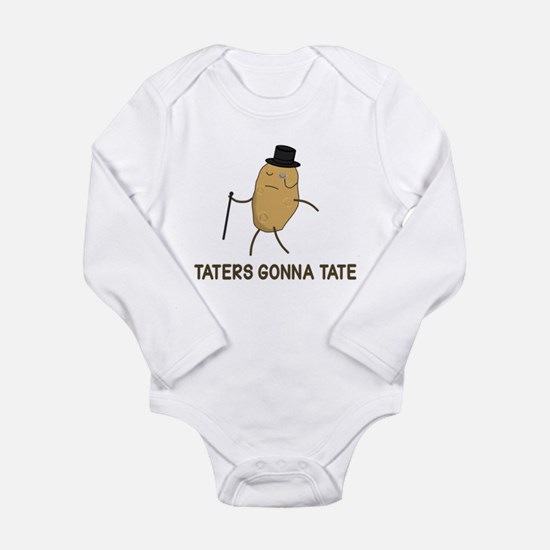 Haters Gonna Hate and Taters Gonna Tate Body Suit