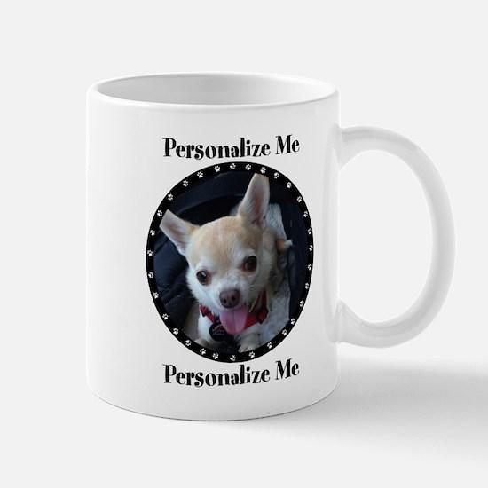 Personalized Paw Print Mug