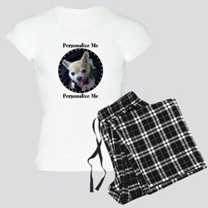 Personalized Paw Print Women's Light Pajamas