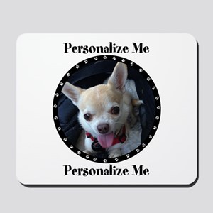 Personalized Paw Print Mousepad