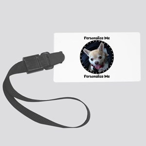 Personalized Paw Print Large Luggage Tag