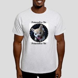 Personalized Paw Print Light T-Shirt