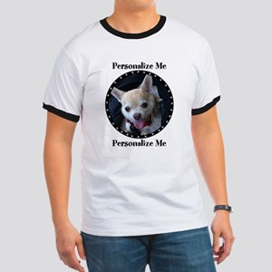 Personalized Paw Print Ringer T