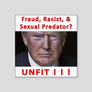 Trump - UNFIT Sticker