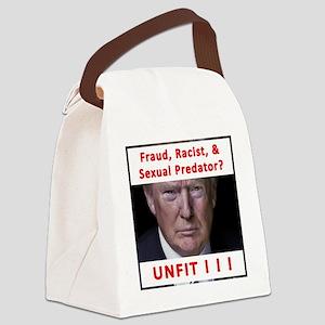 Trump - UNFIT Canvas Lunch Bag