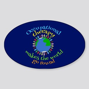 OT World Sticker (Oval)
