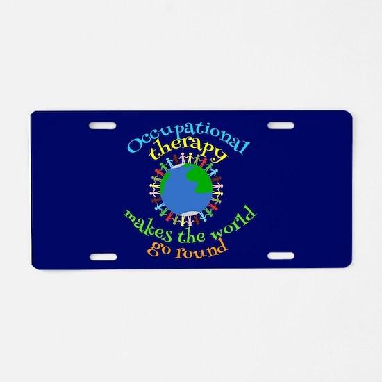 OT World Aluminum License Plate