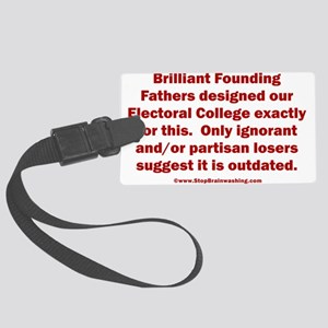 Electoral College Works Large Luggage Tag