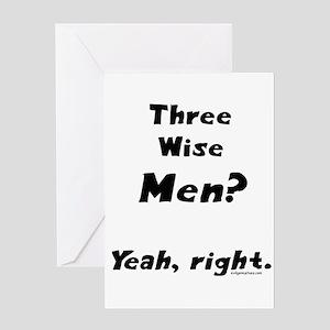 wisemen Greeting Cards