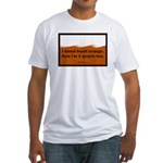 bleed burnt orange Fitted T-Shirt