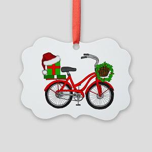 Christmas Bicycle Ornament