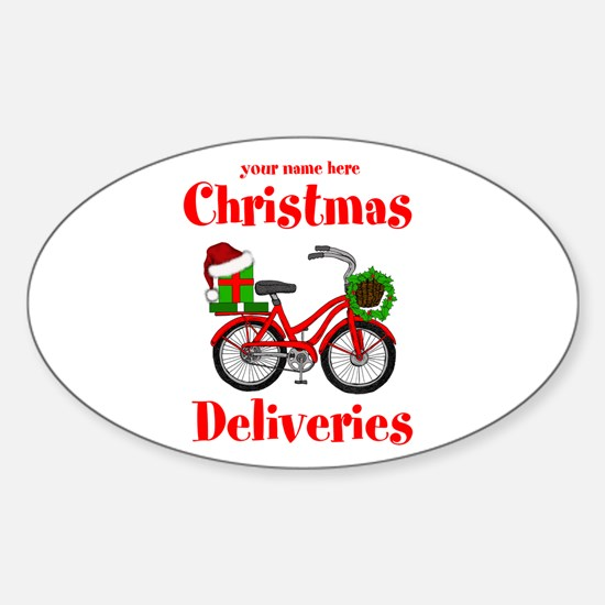 Christmas Deliveries Decal