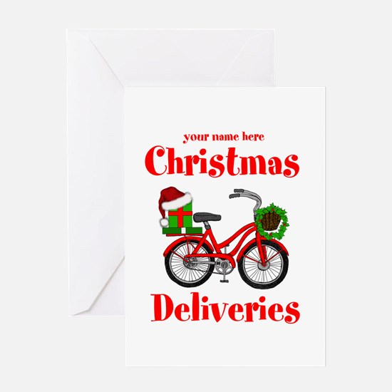 Christmas Deliveries Greeting Cards