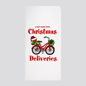 Christmas Deliveries Beach Towel
