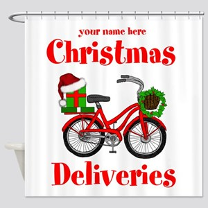Christmas Deliveries Shower Curtain