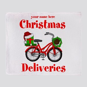 Christmas Deliveries Throw Blanket
