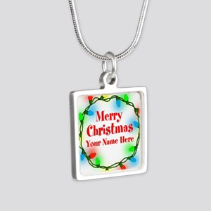 Christmas Lights Necklaces