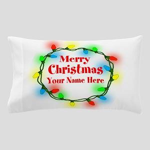 Christmas Lights Pillow Case