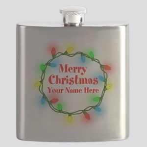 Christmas Lights Flask