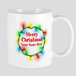 Christmas Lights Mugs